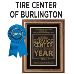Tire Center of Burlington-logo