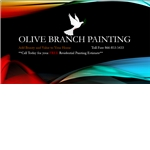 Olive Branch Painting Logo