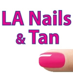LA Nails & Tan Oak Ridge-logo