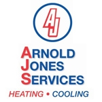 Arnold Jones Services  Heating and Cooling Logo