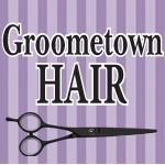 Groometown Hair Logo