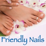 Friendly Nails Quaker Village-logo