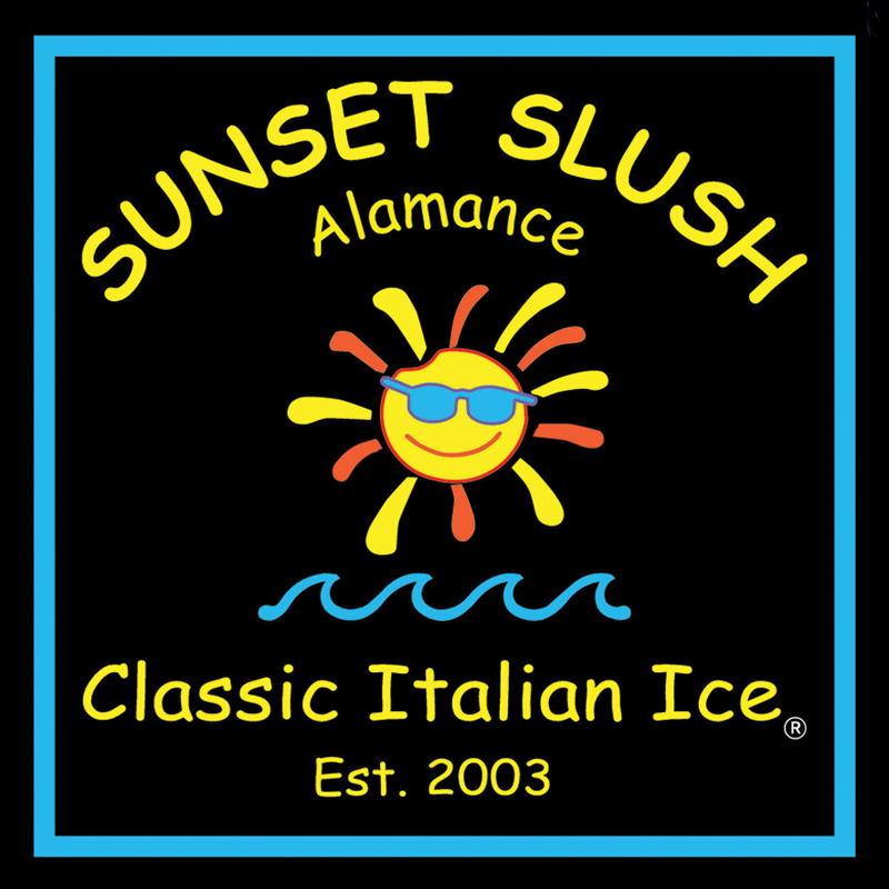 Sunset Slush of Alamance County-logo