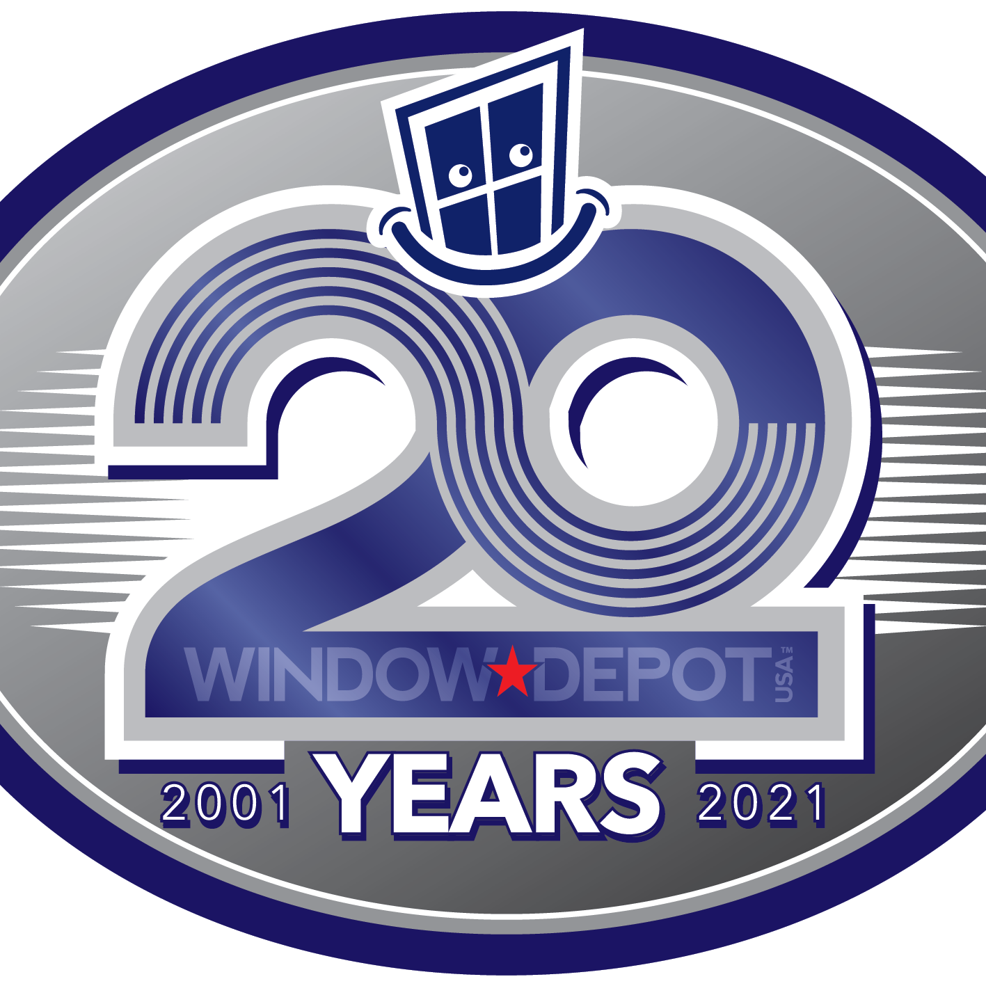 Window Depot USA of Winston Salem-logo