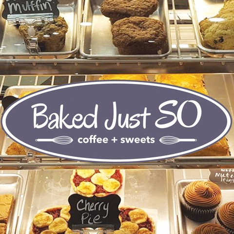 Baked Just So - Coffee and Sweets-logo
