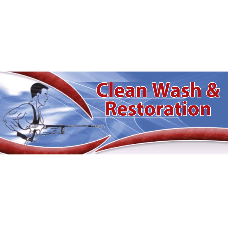 Clean Wash & Restoration Inc-logo