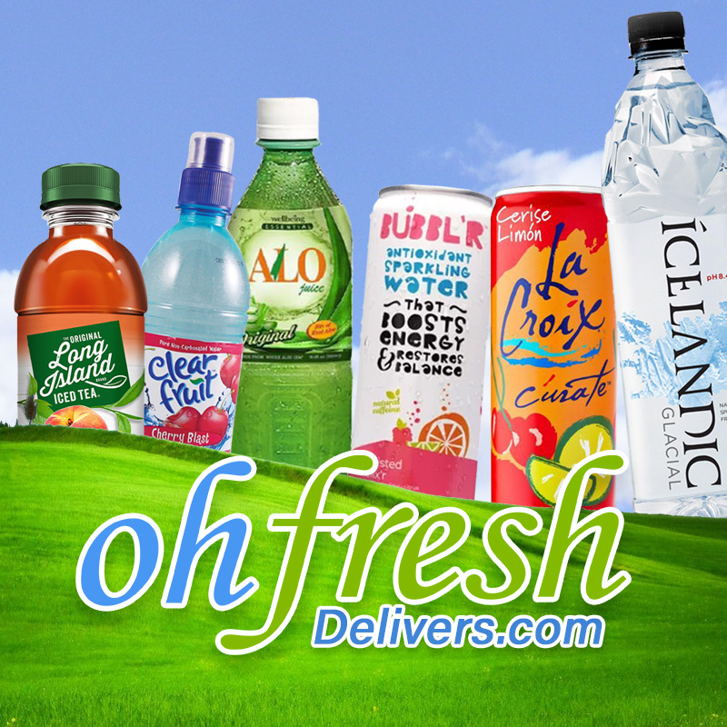 Oh Fresh Delivers Drinks Right to Your Door!-logo
