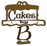 CAKES BY B  Blue House Bakery Logo