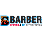 Barber Heating and Air Refrigeration Logo