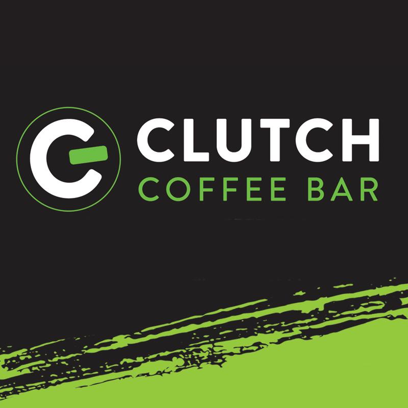 Clutch Coffee Bar, Sunset Drive-logo