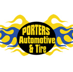 Porters Automotive and Tire Logo